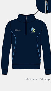 NEW BLACKWATER 1/2 ZIP