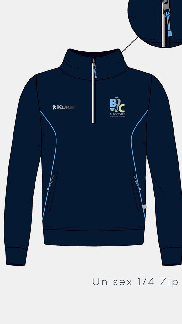 NEW BLACKWATER 1/2 ZIP ( NOT AVAILABLE UNTIL END JULY)