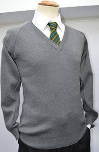 DOWN HIGH GREY V/N JUMPER (BOYS ONLY)