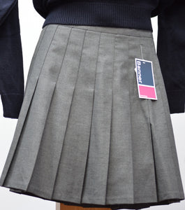 Trutex Grey Pleated Skirt
