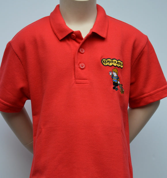 Kilmood Red Polo Shirt