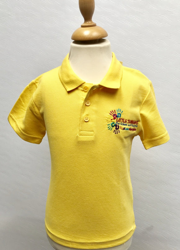 Little Sunbeams Yellow Polo Shirt