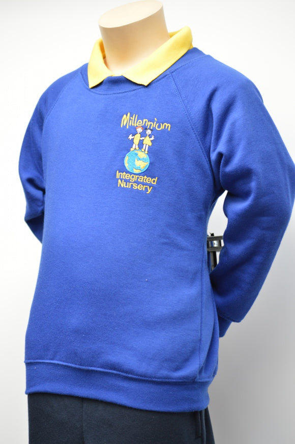 Millennium Nursery Royal Sweatshirt