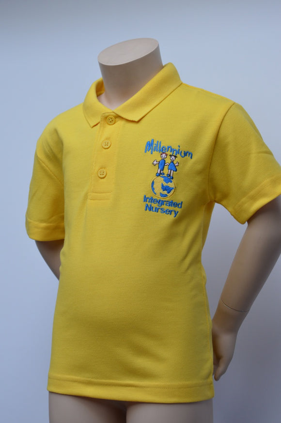 Millennium Nursery Yellow Polo