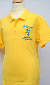 Millennium Yellow Polo Shirt