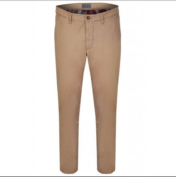 Hattric Chinos Harrison Thermo Comfort Fit BEIGE