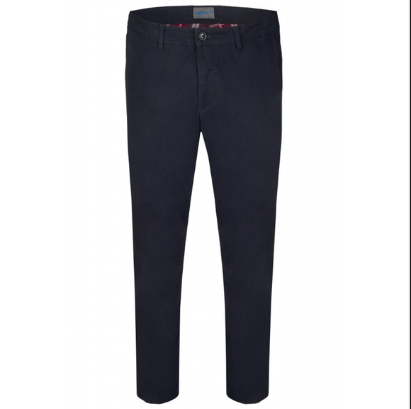 Hattric Chinos Harrison Thermo Comfort Fit NAVY