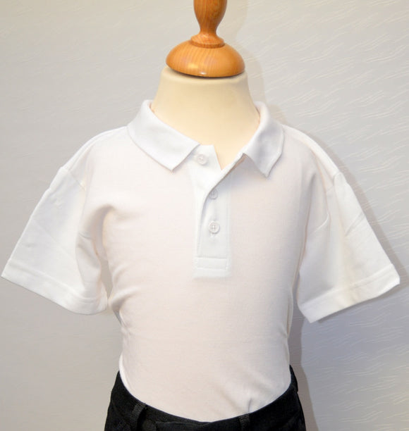St Caolan's White Polo