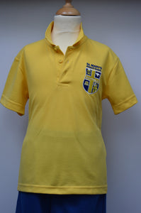 St Mary's Yellow Polo Shirt