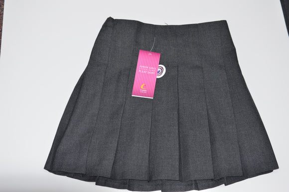 Trutex Pleated Grey Junior Skirt