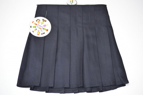 Trutex Pleated Navy Skirt
