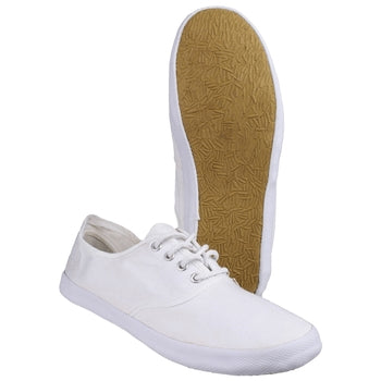 GB  WHITE PLIMSOLLS