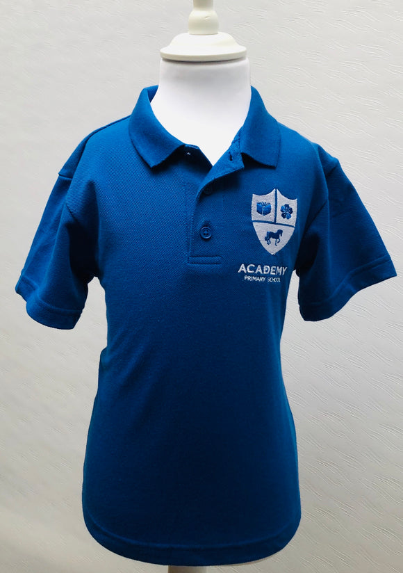 Academy Blue Polo Shirt
