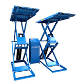 Low profile scissor car hoist lift MS235