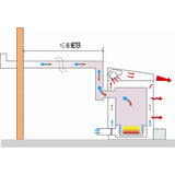 waste oil heater used oil heater OB500 diagram