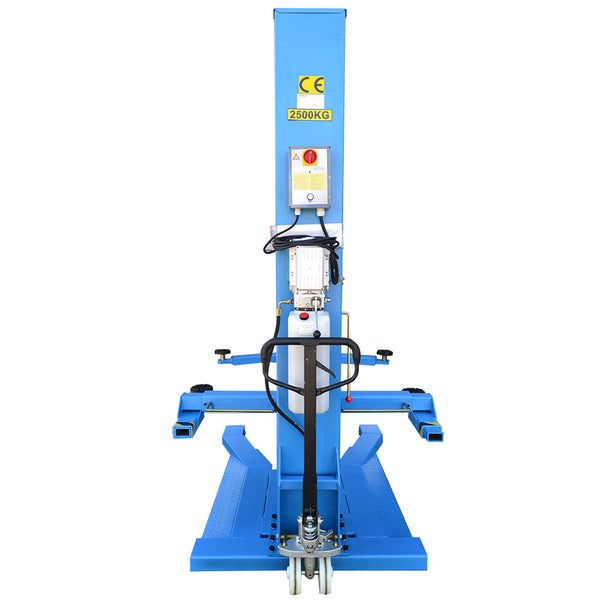 Single Post Car Hoist AAE-SP130