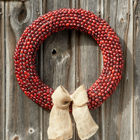 "Joy 22"" Wreath"