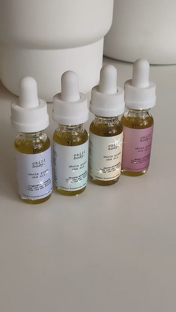 MINI FLIGHT: CBD Oil Quad Pack