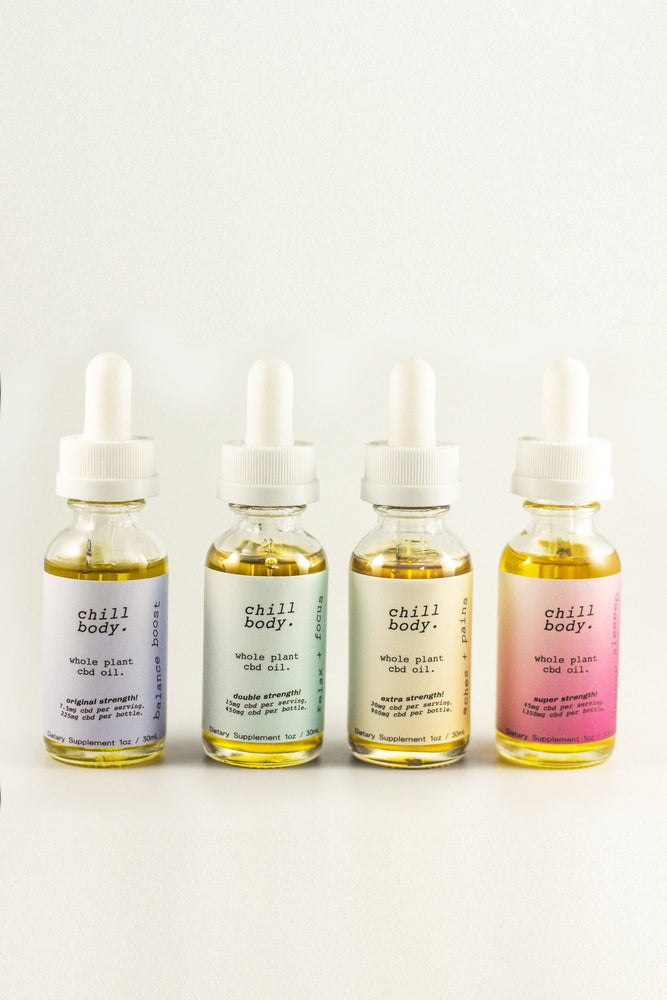 FULL FLIGHT: CBD Oil Quad Pack