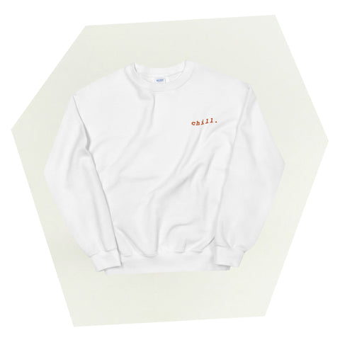Chill Body Embroidered Crewneck