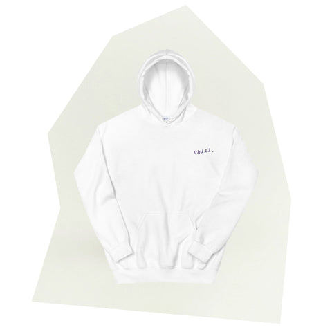 Chill Body Embroidered Hoodie