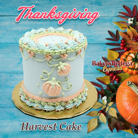 Thanksgiving Harvest Cake