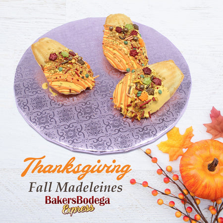 Thanksgiving Madeleines