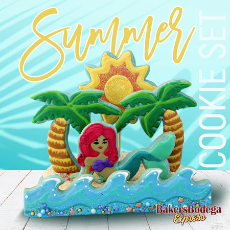 Mermaid Summer Cookie Set