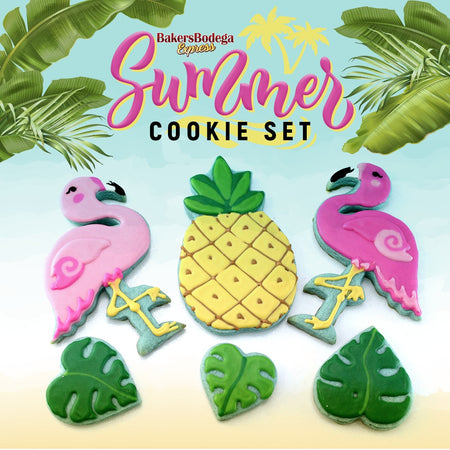Flamingo Summer Cookie Set