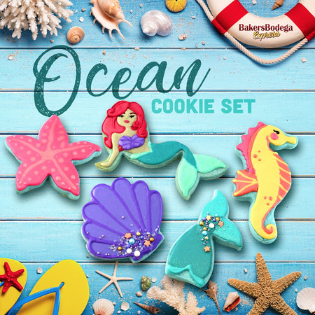 Ocean Cookie Set