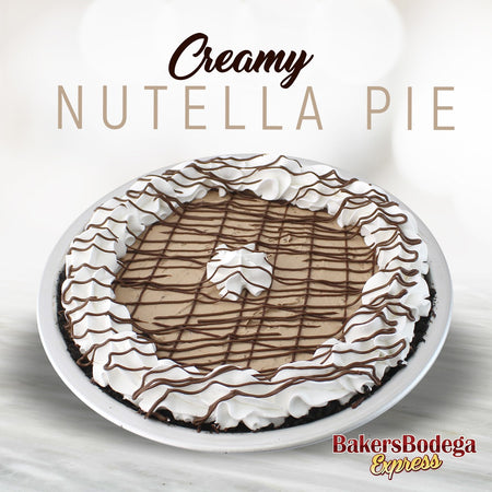 Creamy Nutella Pie