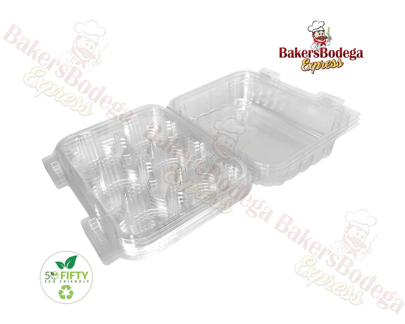 1/2 Dozen Mini Cupcake Container