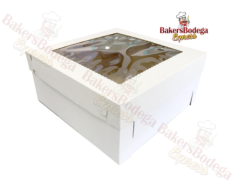 White Tall Box-18x18x8