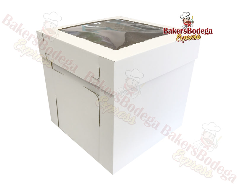 White Tall Box-12x12x12