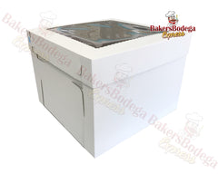 White Tall Box-16x16x12
