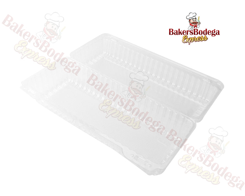12x5x4-Clear Plastic Container 5ct