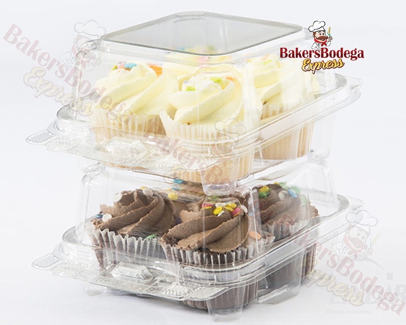 4 Tall Cupcake Container