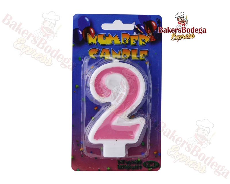 Number Party Candles