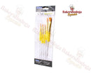 PME 5 Piece Craft Brushes