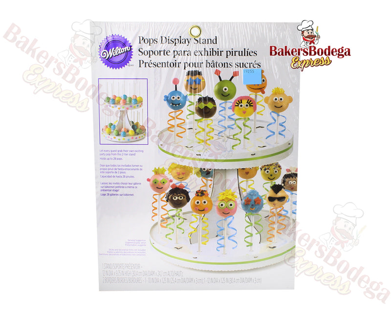 Cake Pop Display 2 Tier Stand