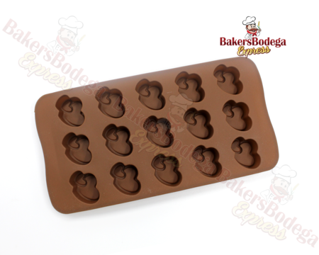 Double Heart Mini Silicone Mold