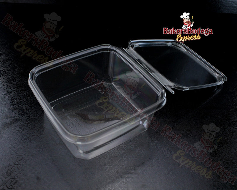 Clear Square Container 32 oz