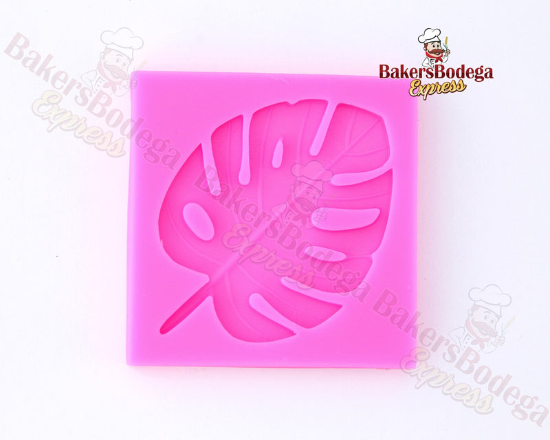 Tropical Leaf Silicone Mold