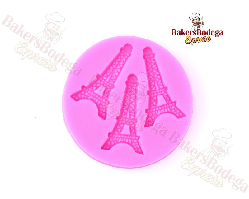 Mini Eiffel Tower Silicone Mold
