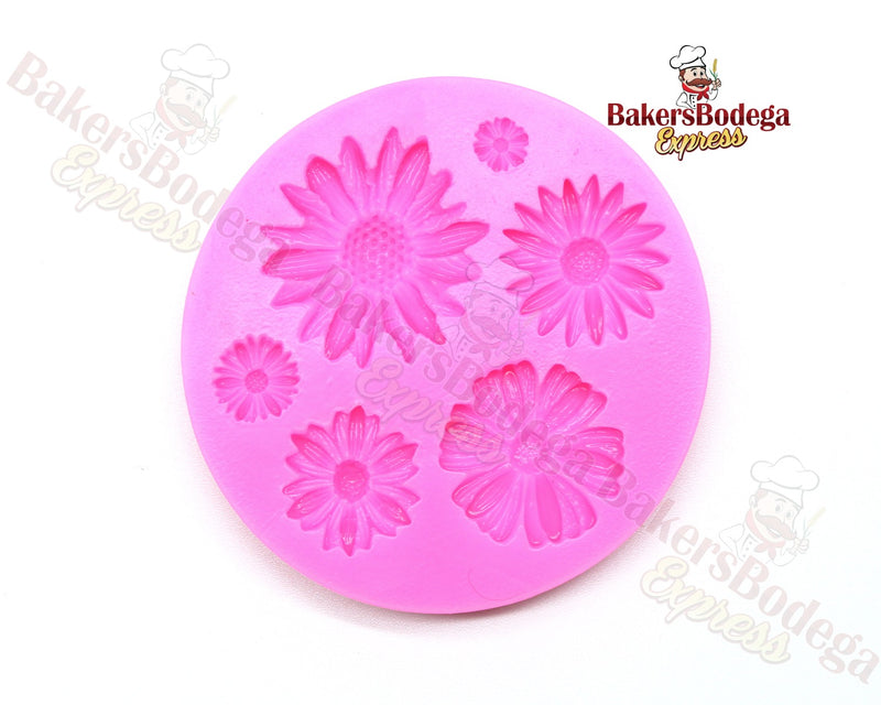 Daisy & Sunflower Silicone Mold