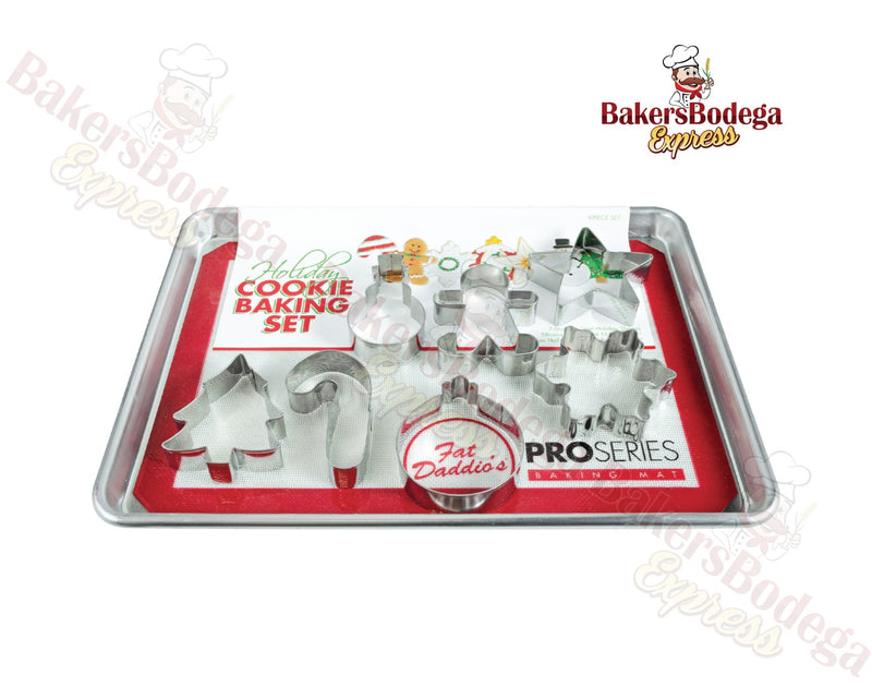 Fat Daddio's Christmas 9PC Set