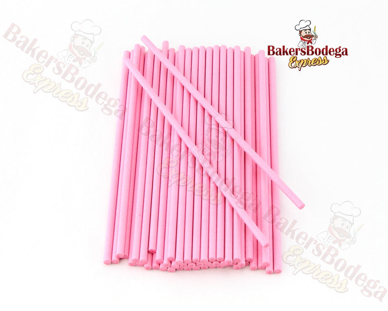 Colored Lollipop Sticks