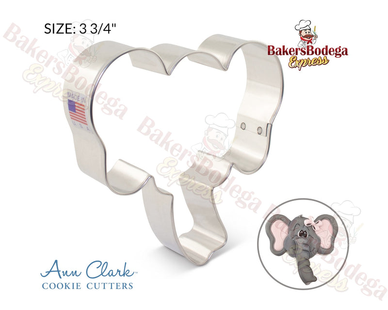 Elephant Face Cookie Cutter