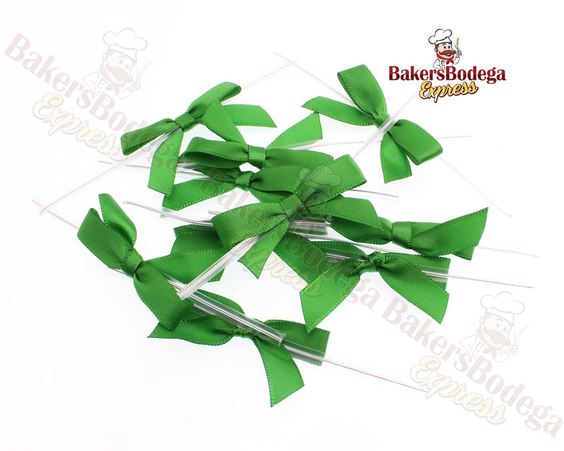 Emerald Green Bow Twists Ties