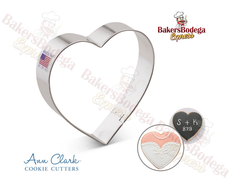 "Heart 4"" Cookie Cutter"